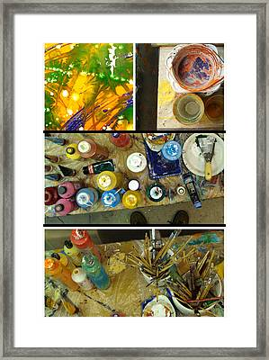 Framed Print featuring the photograph Les Couleurs by Sir Josef - Social Critic - ART