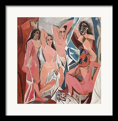 Demoiselles Framed Prints