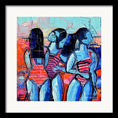 Demoiselles Framed Prints