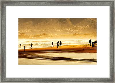 Les Deveses At 13.56 H Framed Print by Herbert Seiffert