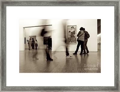 Les Fantasmes De Pompidou Framed Print