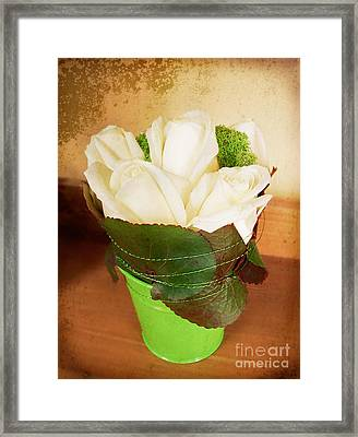 Framed Print featuring the photograph Les Fleurs by Maria Janicki