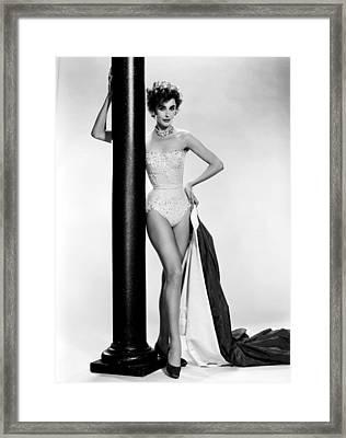 Les Girls, Kay Kendall, 1957 Framed Print