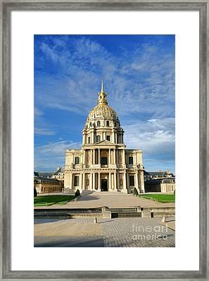 Les Invalides Framed Print