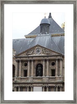 Les Invalides - Paris France - 011313 Framed Print