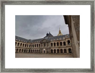 Les Invalides - Paris France - 01139 Framed Print by DC Photographer