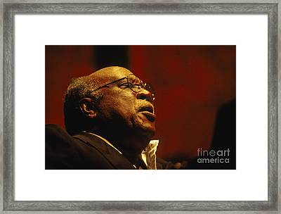 Les Mccann Framed Print by Craig Lovell