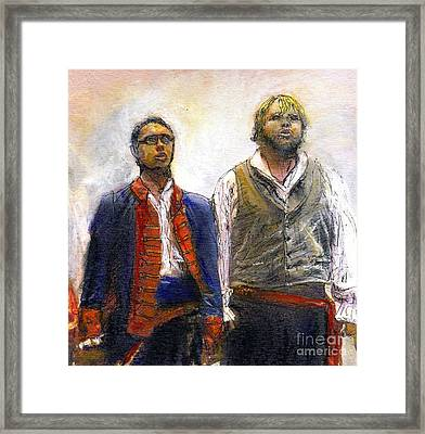 Les Miserables Framed Print by Randy Sprout