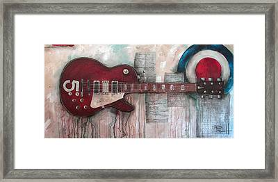 Les Paul Number 5 Framed Print