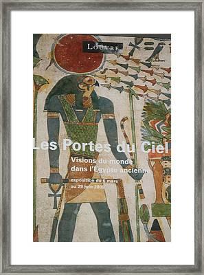 Les Portes Due Ciel Framed Print by Phoenix De Vries
