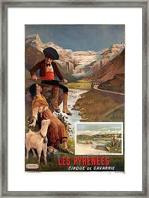 Les Pyrenees  Framed Print