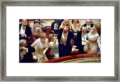 Les Retardataires Framed Print by Roberto Prusso
