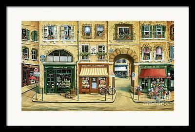 Boutique Art Framed Prints