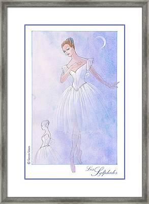 Les Sylphides Tutu Framed Print