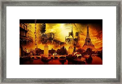 Rud#011 - L'esprit Francais Framed Print by Remus Ovidiu Udrescu