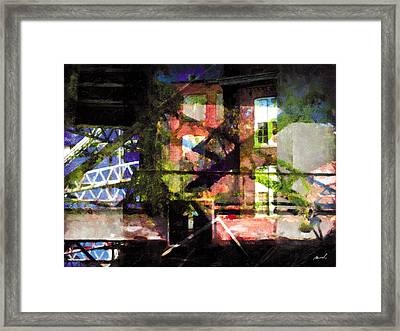 Framed Print featuring the photograph Less Travelled 18 by The Art of Marsha Charlebois