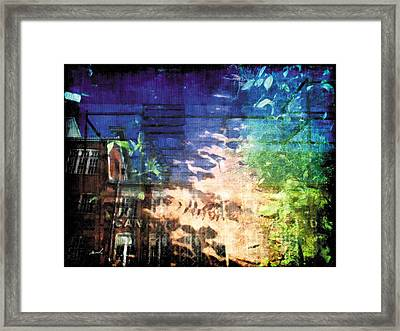 Framed Print featuring the photograph Less Travelled 20 by The Art of Marsha Charlebois