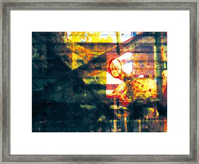 Framed Print featuring the photograph Less Travelled 21 by The Art of Marsha Charlebois