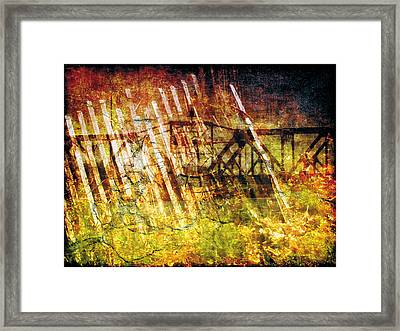 Framed Print featuring the photograph Less Travelled 22 by The Art of Marsha Charlebois