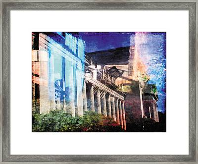 Framed Print featuring the photograph Less Travelled 23 by The Art of Marsha Charlebois
