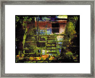 Framed Print featuring the photograph Less Travelled 25 by The Art of Marsha Charlebois