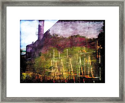 Framed Print featuring the photograph Less Travelled 26 by The Art of Marsha Charlebois