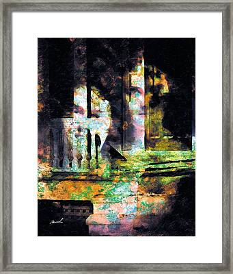 Framed Print featuring the photograph Less Travelled 27 by The Art of Marsha Charlebois
