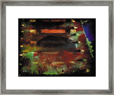 Framed Print featuring the photograph Less Travelled 28 by The Art of Marsha Charlebois
