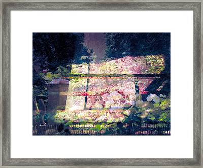 Framed Print featuring the photograph Less Travelled 30 by The Art of Marsha Charlebois