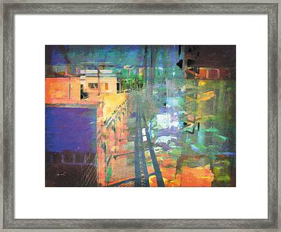Framed Print featuring the photograph Less Travelled 31 by The Art of Marsha Charlebois