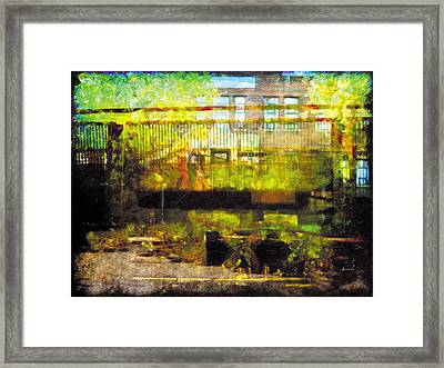 Framed Print featuring the photograph Less Travelled 32 by The Art of Marsha Charlebois