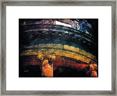 Framed Print featuring the photograph Less Travelled 33 by The Art of Marsha Charlebois