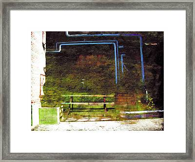 Framed Print featuring the photograph Less Travelled 34 by The Art of Marsha Charlebois