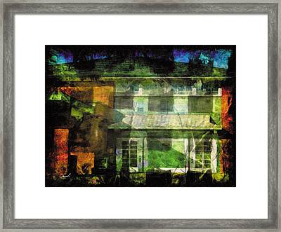 Framed Print featuring the photograph Less Travelled 35 by The Art of Marsha Charlebois