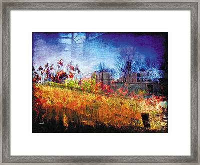 Framed Print featuring the photograph Less Travelled 36 by The Art of Marsha Charlebois