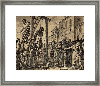 Lesser Antilles, Grenada, Governor Hanged Framed Print by Bridgeman Images