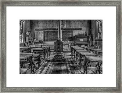 Lesson Plan Framed Print by Ray Congrove