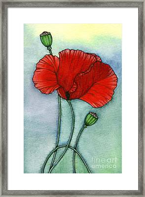Lest We Forget Framed Print by Nora Blansett