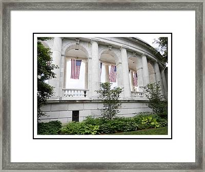 Let Freedom Ring -ahc Framed Print