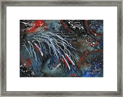 Let Freedom Run Horse Framed Print