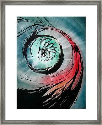 Let Go To Know Framed Print