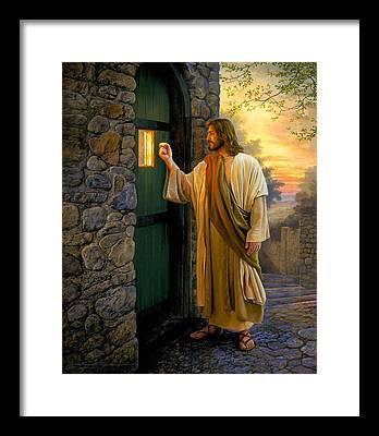 Christ Framed Prints