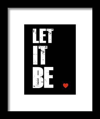 Let It Be Framed Prints