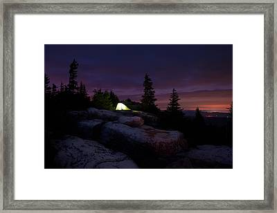 Framed Print featuring the photograph Let It Glow by Bernard Chen