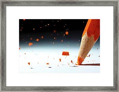 Let It Rain Framed Print