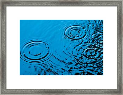Let It Rain Framed Print by Debi Bishop