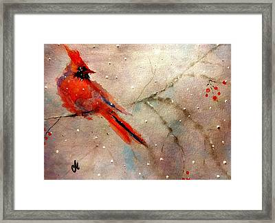 Let It Snow..let It Snow.. Framed Print