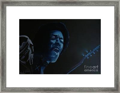 Let Jimi Take Over Framed Print