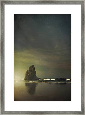 Let Love Shine Through Framed Print by Laurie Search