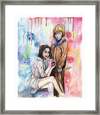 Let Me Bleed Framed Print by Miguel Karlo Dominado